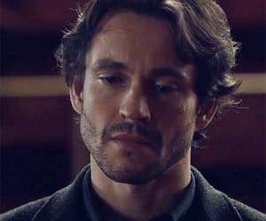 gif, hannibal, and handsome image
