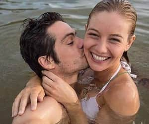 beach, couples, and vacations image
