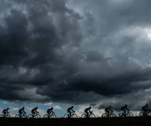 cycling, tdf, and storm image