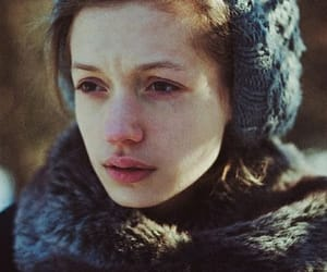 girl, cold, and winter image