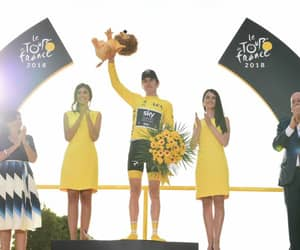 cycling, winner, and tdf image