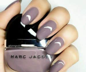 marc jacobs, purpple, and nails image