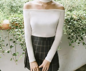 outfit, outfit idea, and tennis skirt image