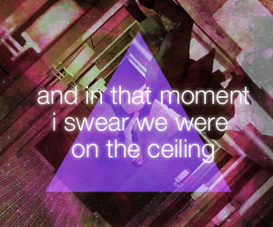 ceiling, hipsters, and inception image