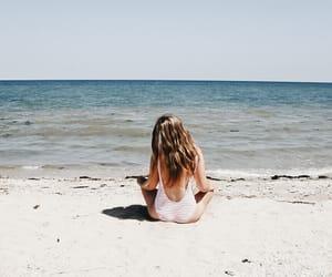 beach, blogger, and fashion image