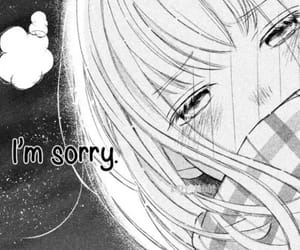 anime, hurt, and sorry image