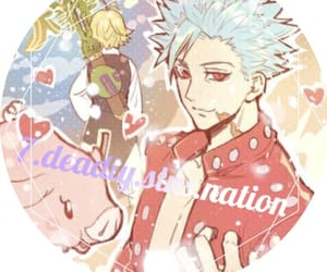 7 deadly sins, anime, and icons image
