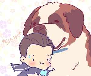Connor, dbh, and fanart image