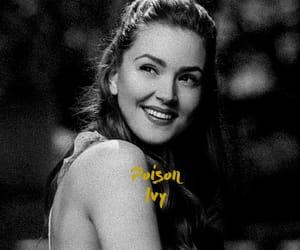 black and white, poison ivy, and pamela isley image