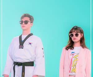 Korean Drama, couple, and park seo joon image