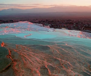 hot springs, deposits, and denizli image