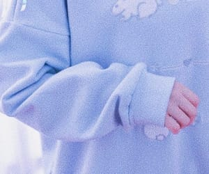 aesthetic, baby, and blue image