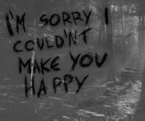 sorry, sad, and happy image