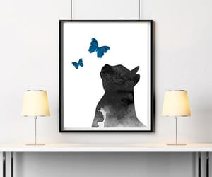 butterflies, etsy, and cat illustration image