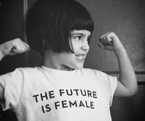 girl, female, and future image
