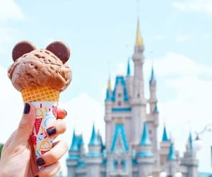 castle, cone, and milk chocolate image