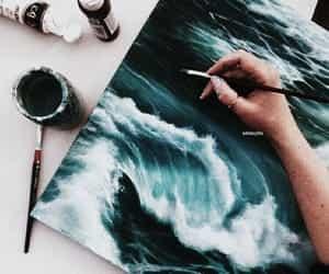 art, artist, and paints image