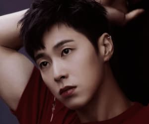 icon, jung yunho, and red image