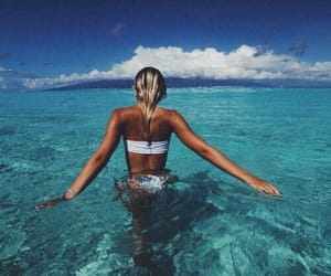 babe, travel, and beach image