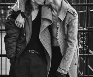 love, gay, and black and white image