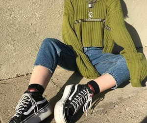 vans, aesthetic, and fashion image