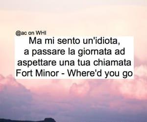 frasi, fort minor, and citazioni image
