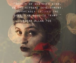 quotes, beauty, and edgar allan poe image