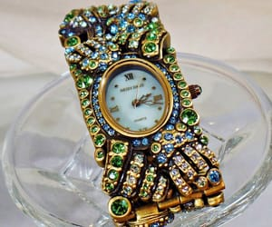 costume jewelry, etsy, and vintage watch image