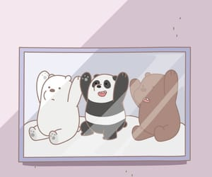 animal, bear, and cartoon image