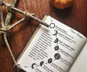 moon, pumpkin, and aesthetic image