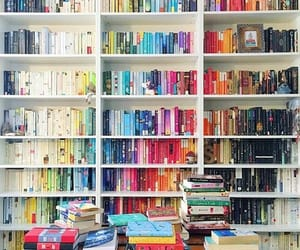books, colors, and read image