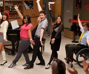 glee, series, and glee club image
