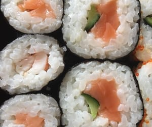 theme, sushi, and food image