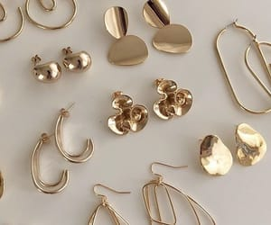 aesthetic, earrings, and jewelry image