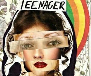 teenager, girl, and society image