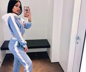 girl, blue, and outfit image