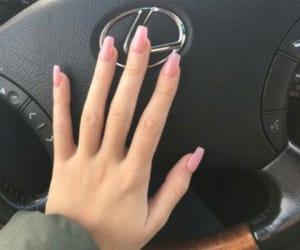 acrylics, grabbers, and fake nails image