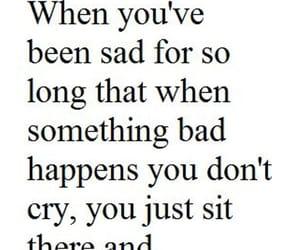 sad, depression, and NUMB image