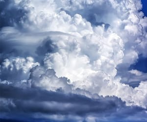 clouds, nature, and wallpaper image