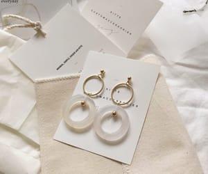 minimalist, aesthetic, and earrings image