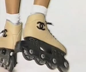 chanel, fashion, and rollerblades image