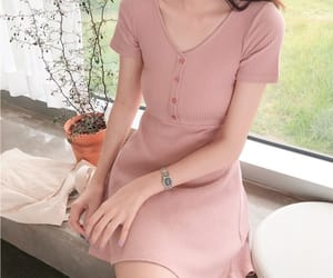asian, korean, and pink image