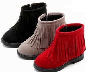 girls winter boots, girls lace up boots, and trendy girls boots image