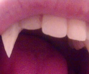 vampire, fangs, and teeth image
