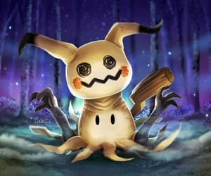 mysterious, pokemon, and cuttie image