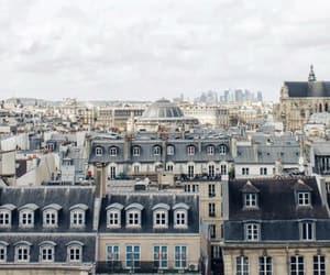 architecture, paris, and vue toits image