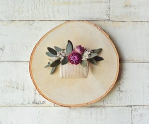 etsy, rustic wedding, and bridal hair comb image