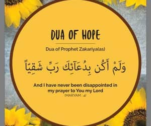 allah, hope, and sunflower image