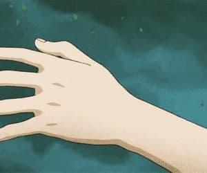 anime, gif, and theme image