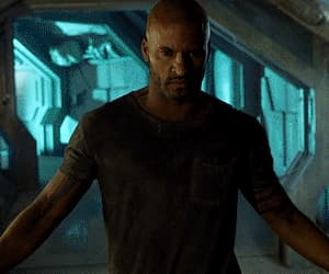 gif, ricky whittle, and marie avgeropoulos image